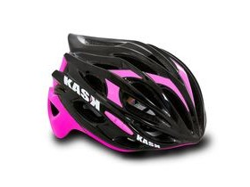 KASK HELMETS MOJITO BLACK AND FUSCHIA