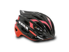 KASK HELMETS MOJITO BLACK AND RED