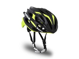 KASK HELMETS MOJITO BLACK AND YELLOW FLURO