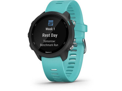 GARMIN Forerunner 245 Music Running Watch - Aqua