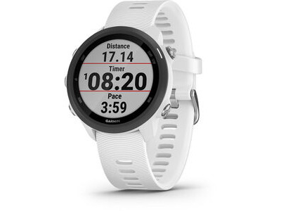 GARMIN Forerunner 245 Music Running Watch - White