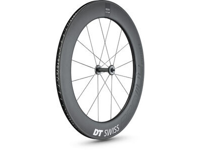 DT Swiss ARC 1100 DICUT wheel, carbon clincher 80 x 17mm rim, front