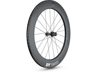 DT Swiss ARC 1100 DICUT wheel, carbon clincher 80 x 17mm rim, rear