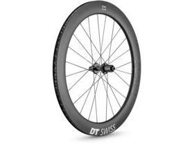 DT Swiss ARC 1400 DICUT disc brake wheel, carbon clincher 62 x 17 mm rim, rear