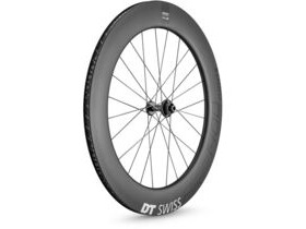 DT Swiss ARC 1400 DICUT disc brake wheel, carbon clincher 80 x 17 mm rim, front