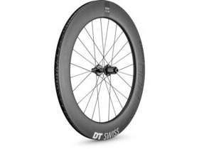 DT Swiss ARC 1400 DICUT disc brake wheel, carbon clincher 80 x 17 mm rim, rear