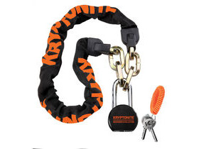 Kryptonite Messenger & Commuter Chain & Moly Padlock
