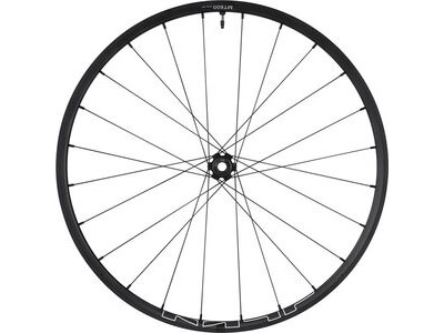 SHIMANO WH-MT600 tubeless compatible wheel, 27.5 in, 15 x 110 mm axle, front, black