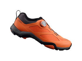SHIMANO MT700 SPD MTB shoes, orange
