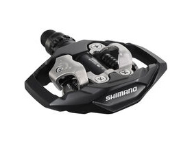 SHIMANO PD-M530 MTB SPD trail pedals - two-sided mechanism, black