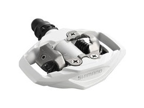 SHIMANO PD-M530 MTB SPD trail pedals - two-sided mechanism - white