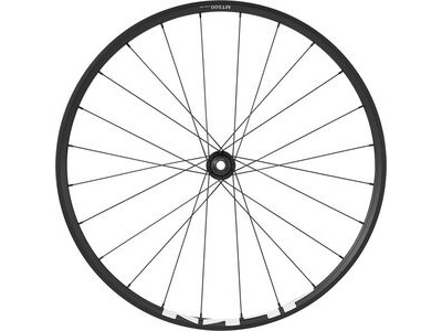 SHIMANO WH-MT500 MTB wheel, 29er, 15 x 110mm boost thru-axle, front, black
