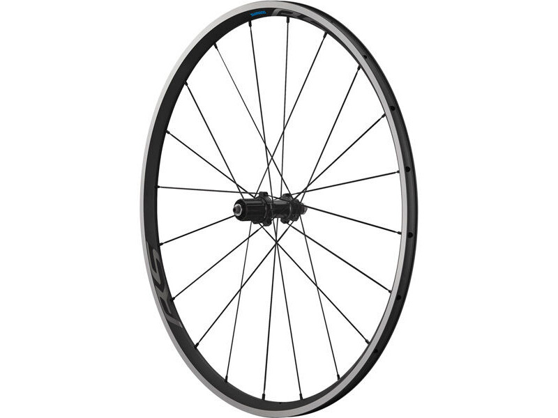 SHIMANO WH-RS300 clincher wheel, 9/10/11-speed, 130 mm Q/R axle, rear, black click to zoom image