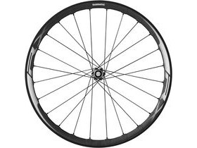 SHIMANO WH-RX830 disc road wheel, Tubeless ready clincher 35mm, front