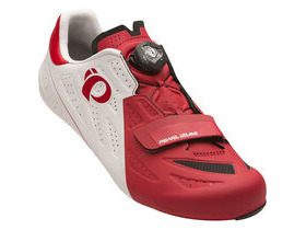 Pearl Izumi Men's, Elite Road V5, White/True Red