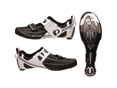 Pearl Izumi Men's, Tri Fly Elite V6, White/Black
