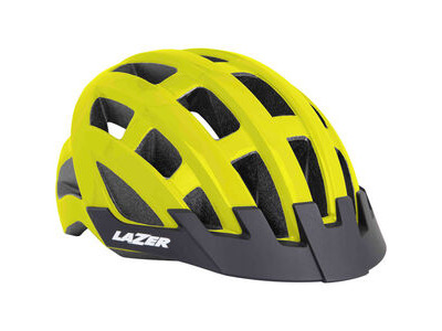 Lazer Compact flash yellow uni-size adult helmet