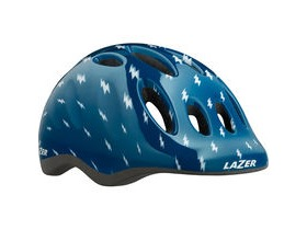 Lazer Max+ Helmet, Blue Flash, Uni-Youth