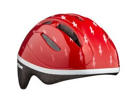 Lazer Bob Helmet, Red Flash, Uni-Kids
