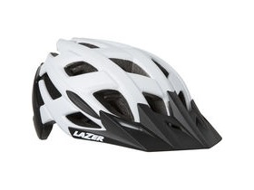 Lazer Ultrax matt white / black