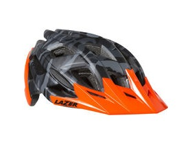 Lazer Ultrax matt black camo / flash orange