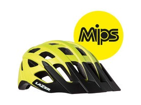 Lazer Roller MIPS matt flash yellow