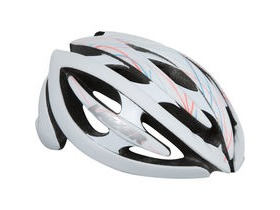 Lazer Grace II white swirls women's