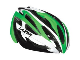 Lazer O2 green / white small 2015