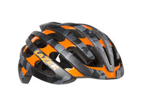 Lazer Z1 with Aeroshell matt black camo / flash orange