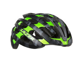 Lazer Z1 with Aeroshell matt black camo / flash green