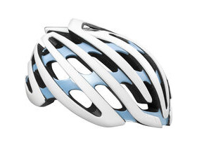 Lazer Cosmo with Aeroshell white / blue medium women's 2016