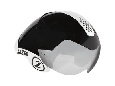 Lazer Wasp Air Tri black chrome w/white kit
