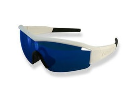 4aae07c483715 Lazer Solid State 1 SS1 Gloss White frame grey + blue lens triple pack