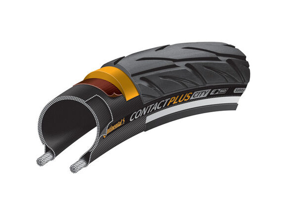 "Continental CONTACT Plus City Reflex 26 x 2.20"" black click to zoom image"