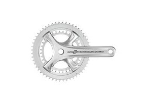 Campagnolo Potenza Silver (Ho) Chainset Ultra Torque 11 Speed 172.5mm 53-39t(Compatible Only With Po11 Ho Ep18) Silver