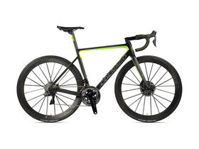 COLNAGO V3R-S 2020 Complete Road Bike AXS Red Carbon, Green, Yellow