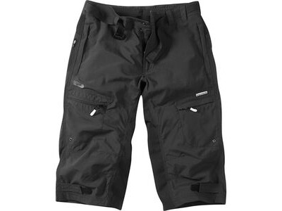 MADISON Trail men's 3/4 shorts, black