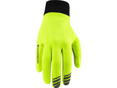 MADISON Isoler Roubaix thermal gloves, hi-viz yellow