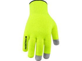MADISON Isoler Merino winter gloves, hi-viz yellow