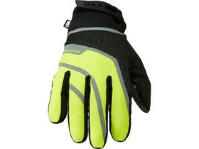 MADISON Avalanche men's waterproof gloves, hi-viz yellow / black