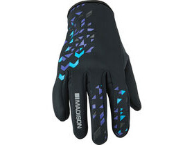 MADISON Element women's softshell gloves, black / purple reign
