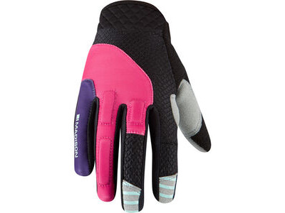 MADISON Zena women's gloves, rose red / imperial purple