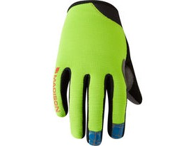 MADISON Trail youth gloves, krypton lime