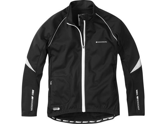 MADISON Sportive women's softshell jacket, black click to zoom image