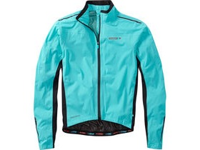 MADISON RoadRace Premio men's waterproof jacket, blue curaco