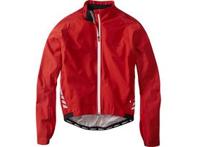 MADISON Sportive Hi-Viz men's waterproof jacket, flame red reflective