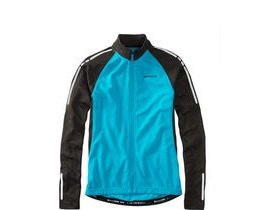 MADISON Stellar men's long sleeved thermal jersey, atomic blue