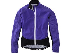 MADISON Sportive Hi-Viz women's waterproof jacket, purple reign reflective