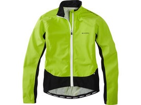 MADISON Sportive Hi-Viz women's waterproof jacket, lime green reflective