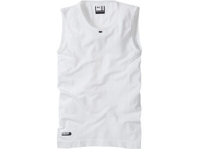 MADISON Isoler mesh men's sleeveless baselayer, white